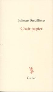 Juliette Brevilliero - Chair papier.