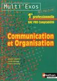 Juliette Caparros et Lucine Chevrier - Communication et organisation 1e Bac pro 3 ans comptabilité.