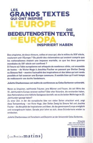 Les grands textes qui ont inspiré l'Europe