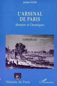 Juliette Faure - L'arsenal de paris.