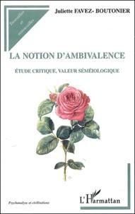 Openwetlab.it La notion d'ambivalence - Etude critique, valeur séméiologique Image