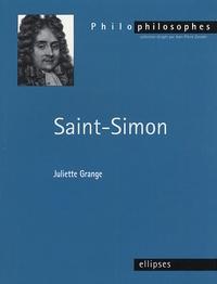 Juliette Grange - Saint-Simon (1760-1825).