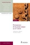 Juliette Vion-Dury - Permanence de la poésie épique au XXe siècle - Akhmatova, Hikmet, Neruda, Césaire.