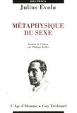 Julius Evola - Métaphysique du sexe.
