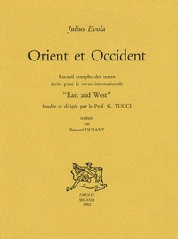 Julius Evola - Orient et Occident.