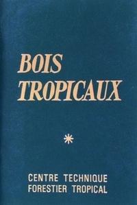 Julius Natterer - Bois tropicaux.