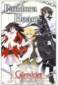 Jun Mochizuki - Pandora Hearts  : Calendrier 2011-2012.