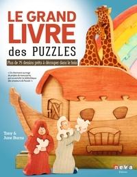 June Burns et Tony Burns - Le grand livre des puzzles - Plus de 75 dessins prêts à découper à la scie chantourner.