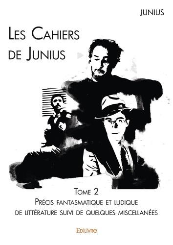 Les cahiers de Junius Tome 2 Précis fantasmatique et ludique de littérature suivi de quelques miscellanées