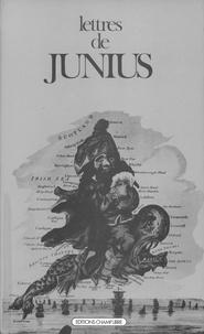 Junius - Lettres.