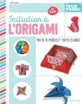 Junko Hirota - Initiation à l'origami - Plus de 25 modèles et toutes les bases.
