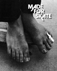 Jürgen Blümlein et Dirk Vogel - Made for skate - The illustrated history of skateboard footwear.