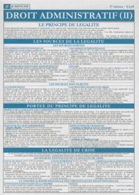 Jurifiche - Droit administratif (II).