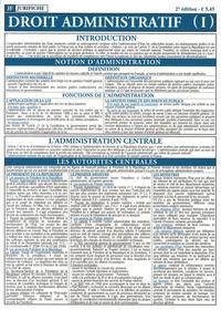 Jurifiche - Droit administratif - Tome 1.