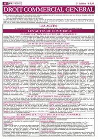 Jurifiche - Droit commercial général.
