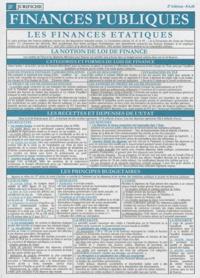 Jurifiche - Finances publiques.