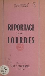 Just Géhin et Georges Leclerc - Soixante-sixième pèlerinage de Saint-Dié à Notre-Dame de Lourdes, 1956.