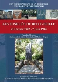 Justine Bihl et Louis Capus - Les fusillés de Belle-Beille - 21 février 1942 - 7 juin 1944.