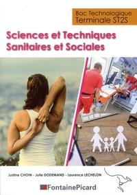 Justine Choin et Julie Dodemand - Sciences et techniques sanitaires et sociales Tle ST2S Bac technologique.