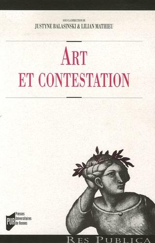 Justyne Balasinski et Lilian Mathieu - Art et contestation.