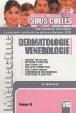 K. Berkache - Dermatologie Vénérologie.