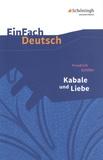 Kabale und Liebe. Mit Materialien - Ein bürgerliches Trauerspiel.