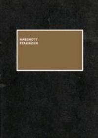 Kabinett Finanzen - Ein Sparbuch des Finanzwortschatzes.