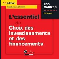Deedr.fr L'essentiel du choix des investissements et des financements Image