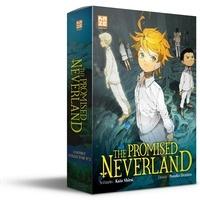 Kaiu Shirai et Posuka Demizu - The Promised Neverland Tome 12 : Coffret collector 2 - Avec le roman Souvenirs de Mamans, un marque-page métallique et un carnet illustré.