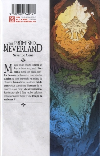 The Promised Neverland Tome 18