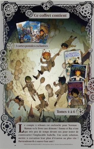 The Promised Neverland Tome 4 à 6 Pack en 3 volumes : Tome 4 ; Tome 5, L'évasion ; Tome 6, B06-32. Avec 3 cartes exclusives