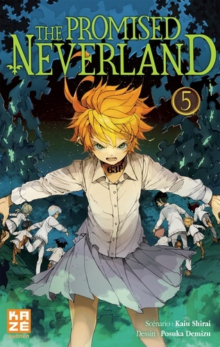 The Promised Neverland Tome 5 L'évasion