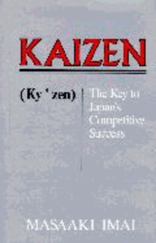 Kaizen: The Key to Japan's Competitive Success.