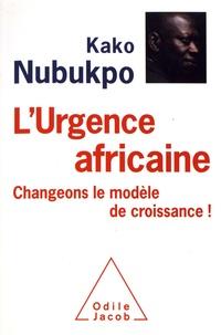 Téléchargement gratuit de livres électroniques en pdf pour ipad L'urgence africaine  - Changeons le modèle de croissance ! MOBI DJVU CHM 9782738148933