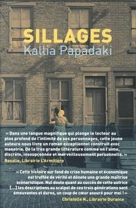 Kallia Papadaki - Sillages.