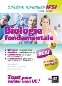 Kamel Abbadi et Marie-Noëlle Dieudonne - Biologie fondamentale UE 2.1 - Avec annales corrigées.
