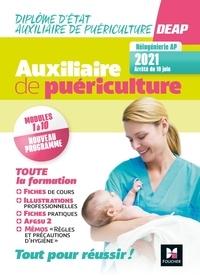 Kamel Abbadi et Marie-laure Driget - Diplôme d'Etat Auxiliaire de puériculture DEAP - Modules 1 à 10 + AFGSU 2.
