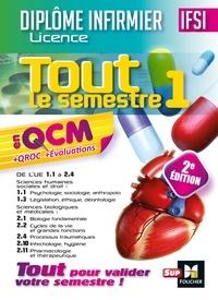 Kamel Abbadi et Priscilla Benchimol - IFSI Tout le semestre 1 en QCM et QROC - Diplôme infirmier - 2e édition.