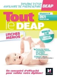 Kamel Abbadi et Priscilla Benchimol - Tout le DEAP en fiches mémos - 4e ed.-Nouveau référentiel 2021.