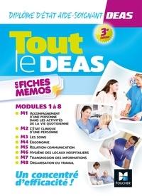 Kamel Abbadi et Priscilla Benchimol - Tout le DEAS en fiches mémos - IFAS - Diplôme Etat Aide-soignant - 3e éd - Révision.