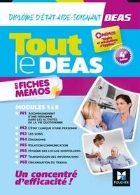 Kamel Abbadi et Priscilla Benchimol - Tout le DEAS en fiches mémos - IFAS - Diplôme Etat Aide-Soignant 4è ed - Révision.