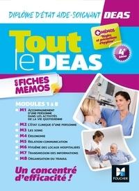 Kamel Abbadi - Tout le DEAS en fiches mémos - DEAS Diplôme d'Etat Aide-Soignant, modules 1 à 8.