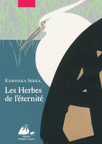 Kamisaka Sekka - Les herbes de l'éternité - Coffret en 2 volumes avec livret de présentation.