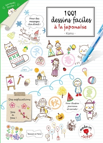 1 001 Dessins Faciles A La Japonaise