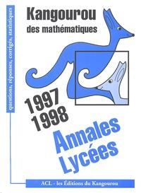 Kangourou - Kangourou des Lycées - Annales 97 et 98 corrigés & analysés.