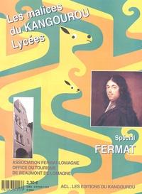 Kangourou - Les malices du Kangourou Lycées - Spécial Fermat.