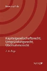Kapitalgesellschaftsrecht, Umgründungsrecht, Übernahmerecht.