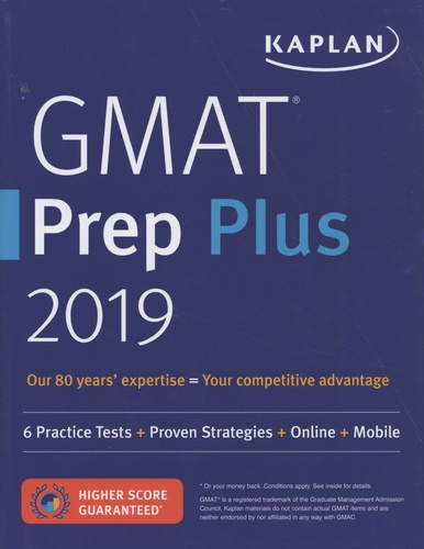 Kaplan - GMAT Prep Plus.