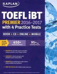 Kaplan - TOEFL iBT - With 4 Practice Tests. 2 Cédérom