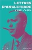 Karel Capek - Lettres d'Angleterre - Accompagnées, pour mieux montrer les choses, de dessins de l'auteur.